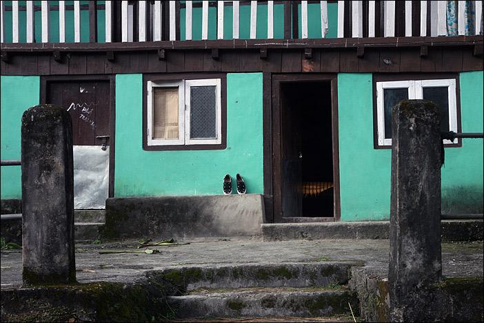 Haus in Dzongu