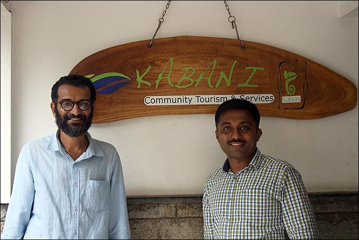 Sumesh und Sreejith von Kabani Tours