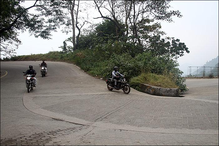 Motorräder zwischen Wayanad und Kozhikode