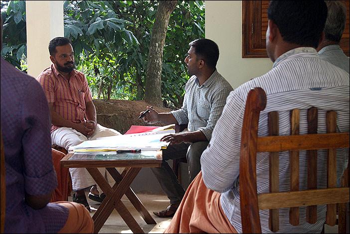 Sreejith erklärt und erzählt von Erfahrungen