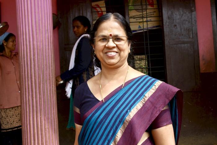 Mothakkara: Grundschuldirektorin Geeta