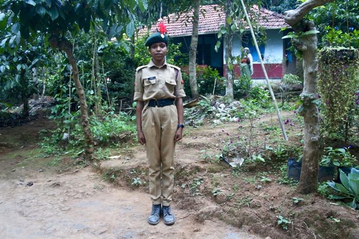 Mothakkara: Polizistin in Ausbildung