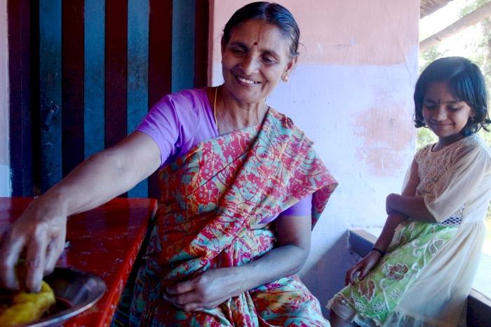 Guide Radhamani aus Mothakkara