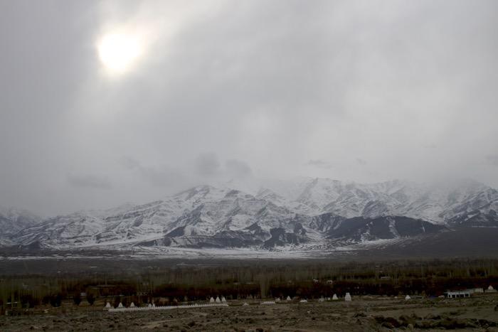 Einterladakh: Induslandschaft bei Matho