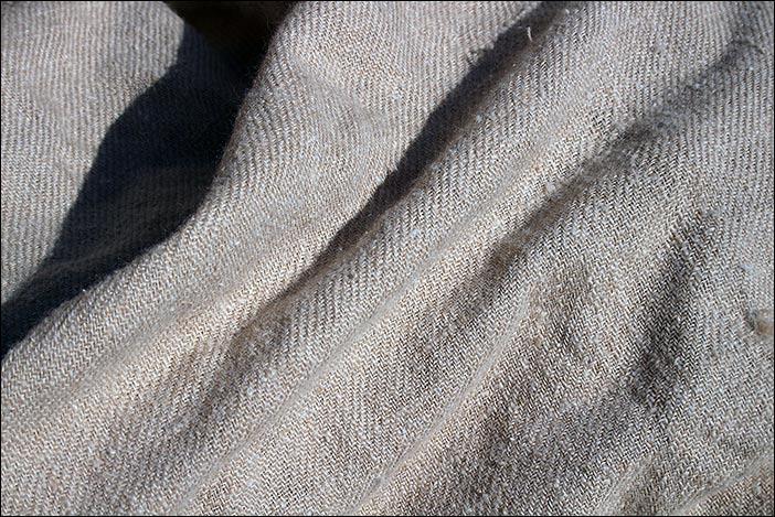 handgewebter Schal aus Kaschmirwolle