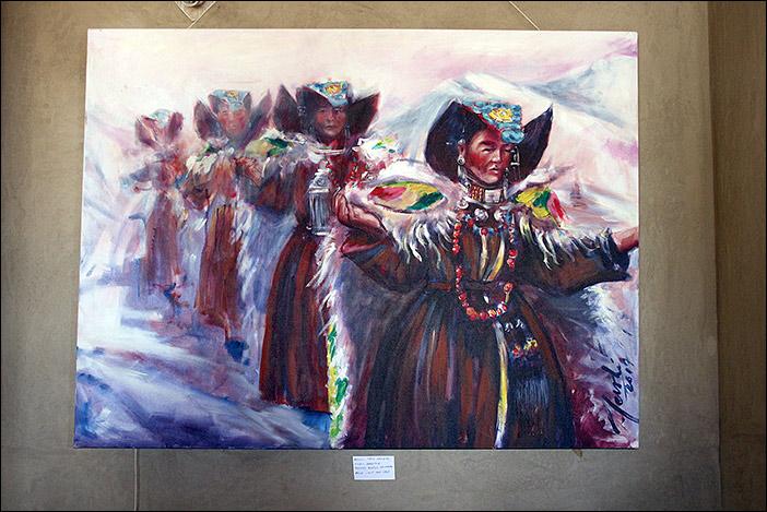Gemälde in der Spindle Gallerie