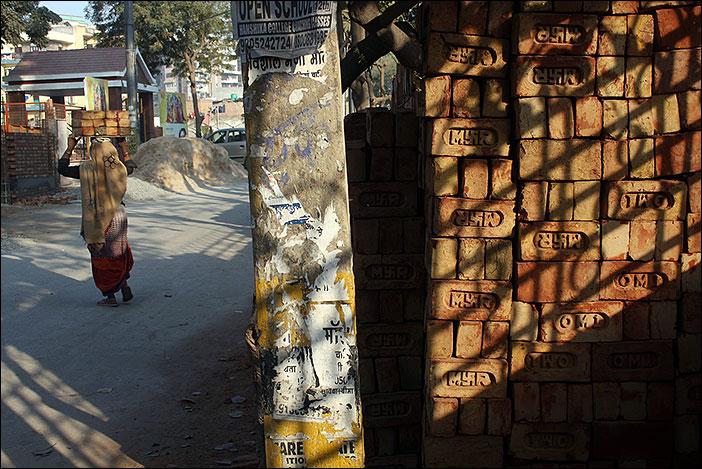 Baustelle in Dwarka