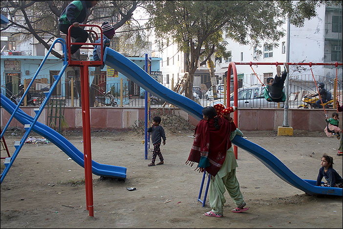 Spielplatz in Dwarka