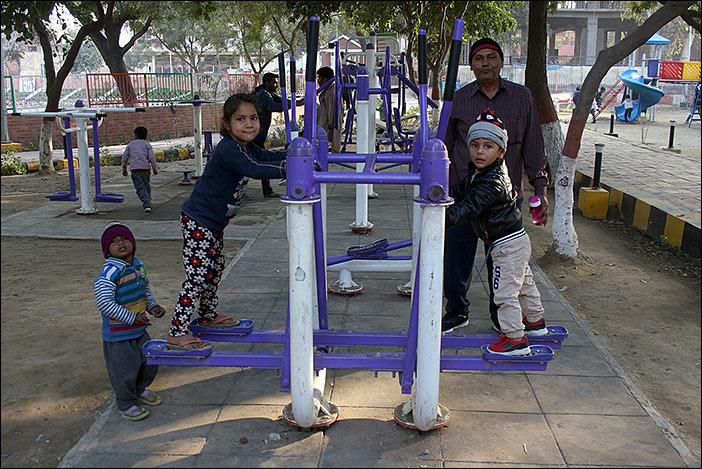 Dwarka: Fitnessgerät