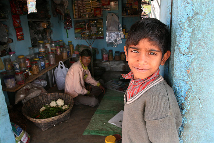 Junge in Jhadol
