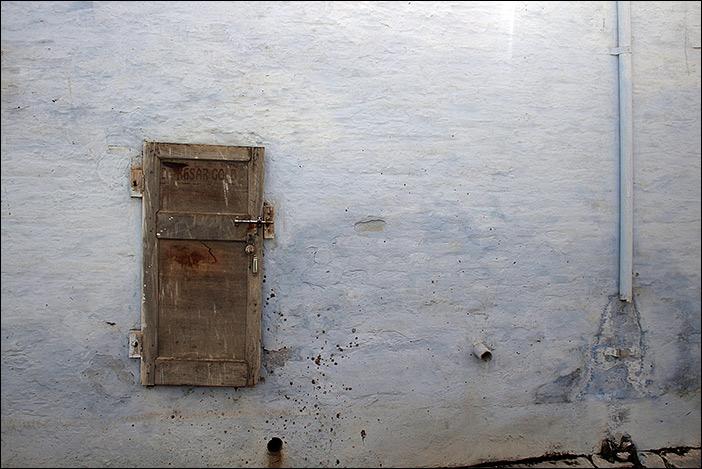 Tür in Bikaner