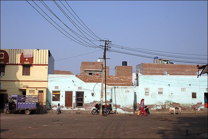Häuser in der Altstadt von Bikaner