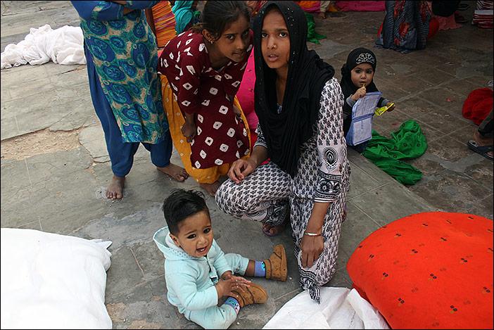 Familienmitglieder in Bikaner