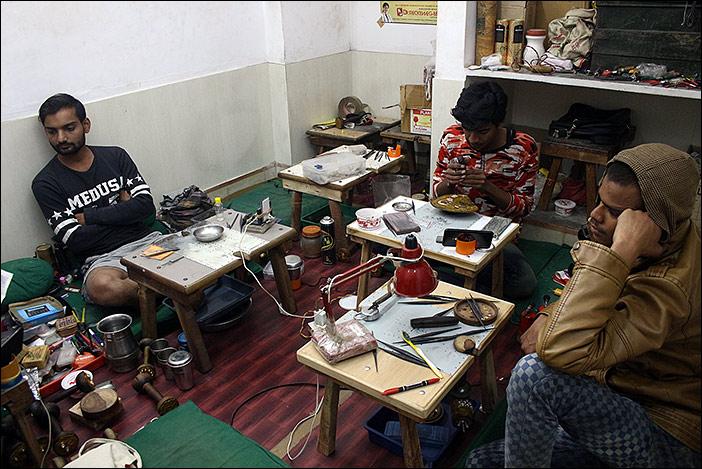 Schmuckherstellungsraum Bikaner