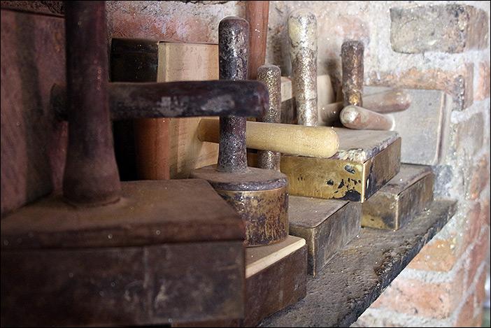 Stempel für Golddruck