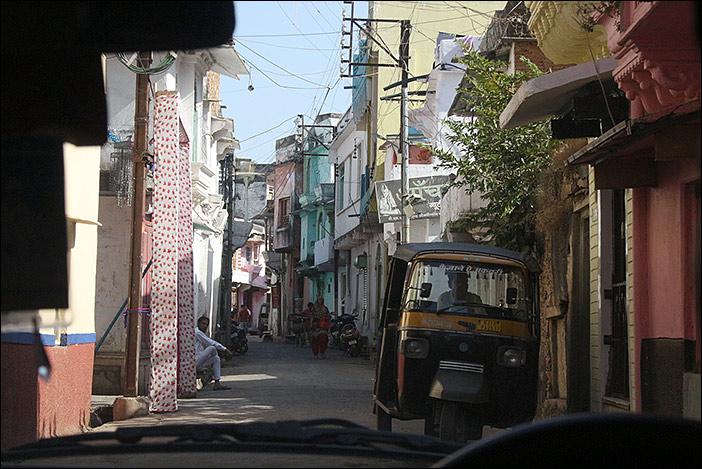Straße in Dungarpur