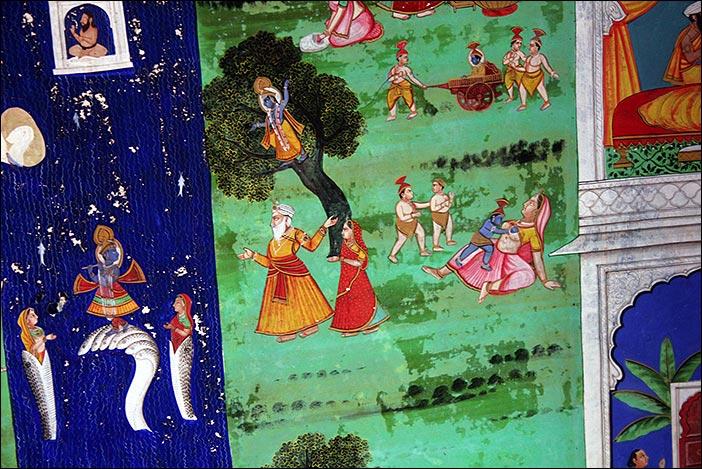 Deckenbild Juna Mahal