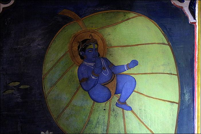 Krishna im Juna Mahal