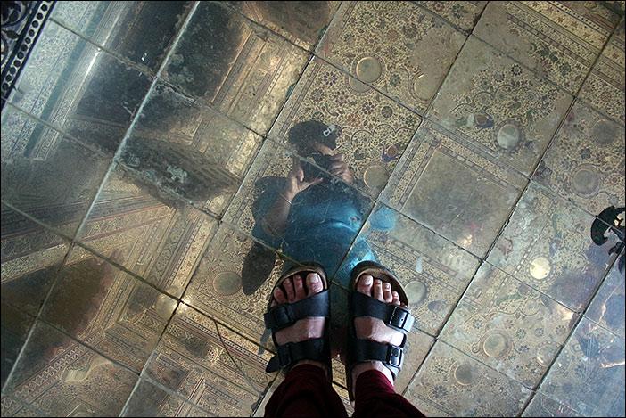 Spiegelraum im Juna Mahal
