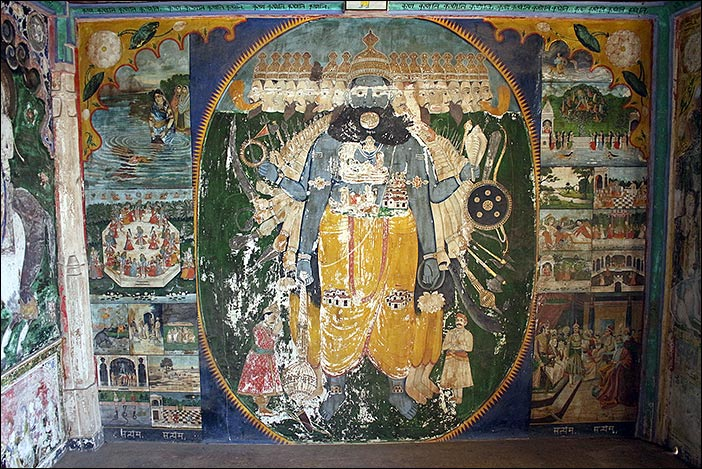 Wandgemälde Juna Mahal