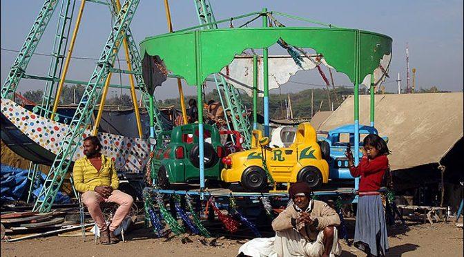 Karussell auf Baneshwar Fair