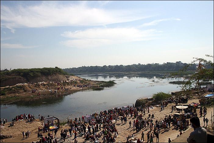 Baneshwar Fair, Flussdelta
