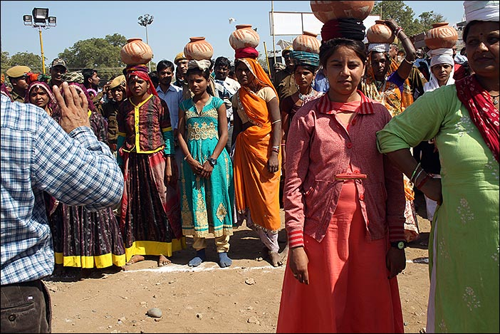 Matka Lauf auf Baneshwar Fair