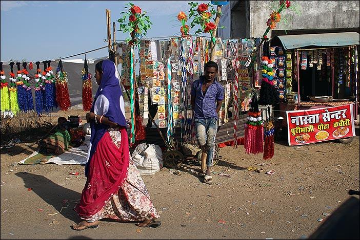 Verkaufsstand Baneshwar Fair
