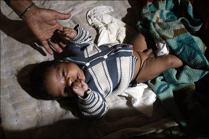Meena Baby in Südrajasthan