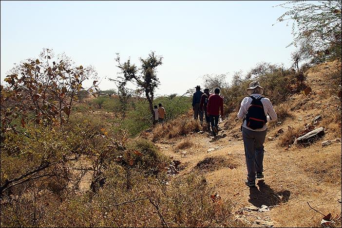 Wanderung in Südrajasthan