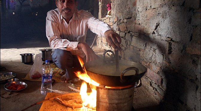 Essen kochen in Samal