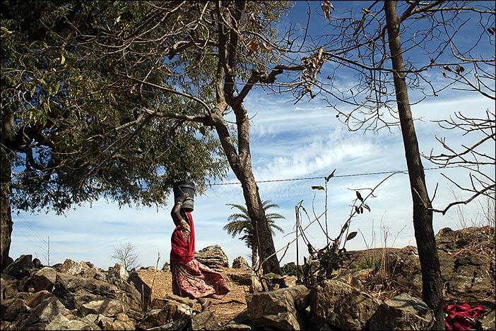 Frau in Samal