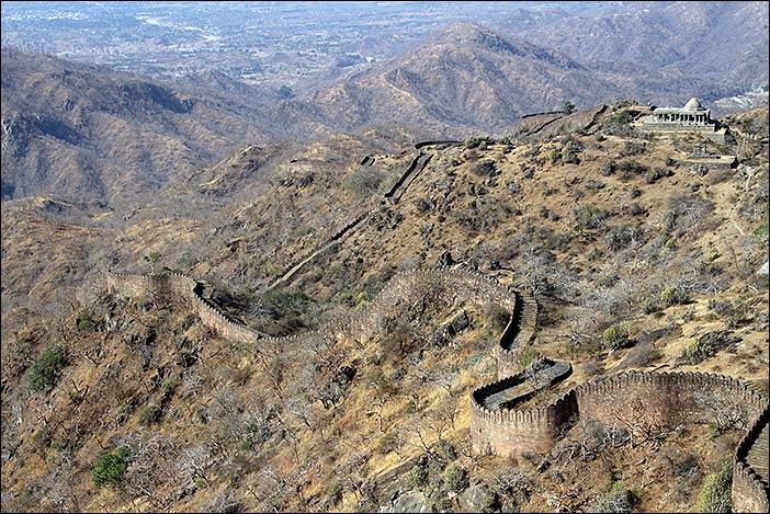 Kumbalgarh-Mauer