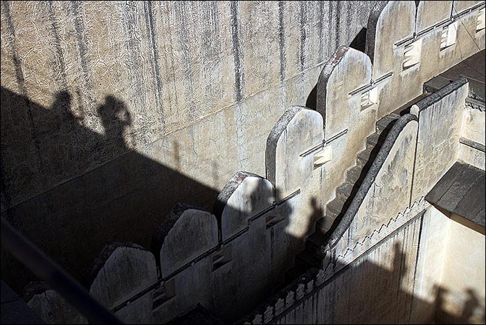Schatten von Kumbalgarh-BesucherInnen
