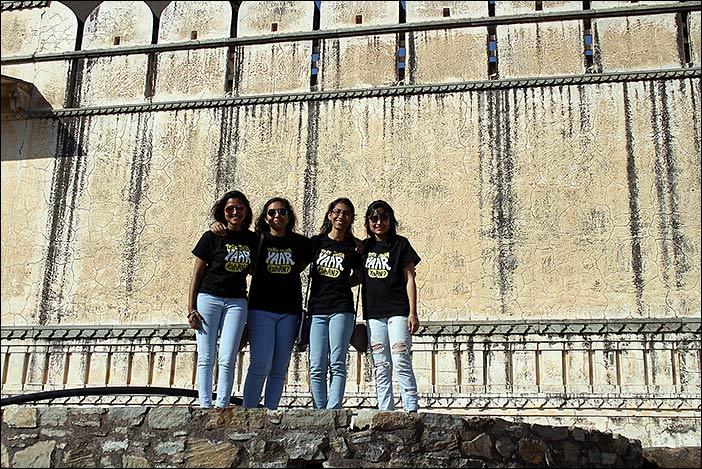 Besuchsgruppe Kumbalgarh