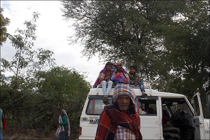 Leute in Süd-Rajasthan
