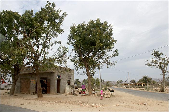 Haus in Süd-Rajasthan
