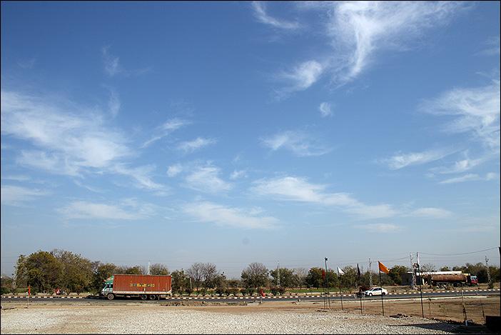 Highway in Süd-Rajasthan