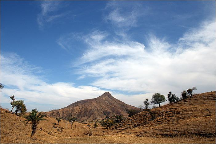 Landschaft in Süd-Rajasthan