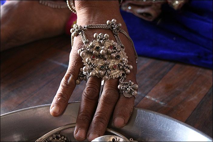 Handschmuck in Rajasthan