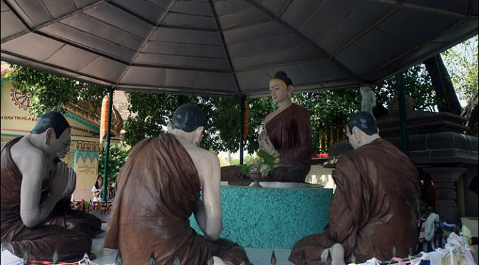 Buddhas erste Lehrrede in Sarnath