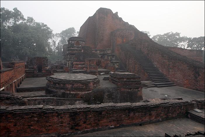 Ruine in Nalanda