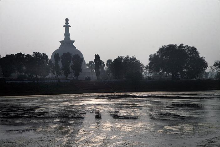 Shanti Stupa in Vaishali