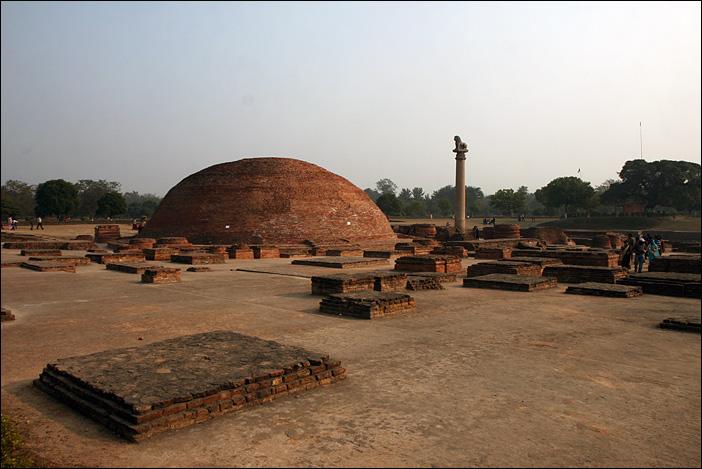 Die Ruinen in Vaishali
