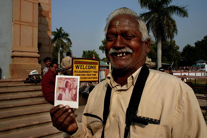 Fotograf in Sarnath